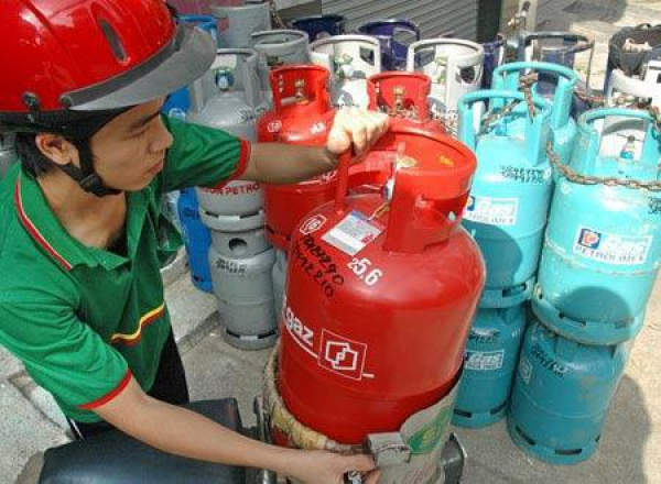 Price of cooking gas cylinder decreased