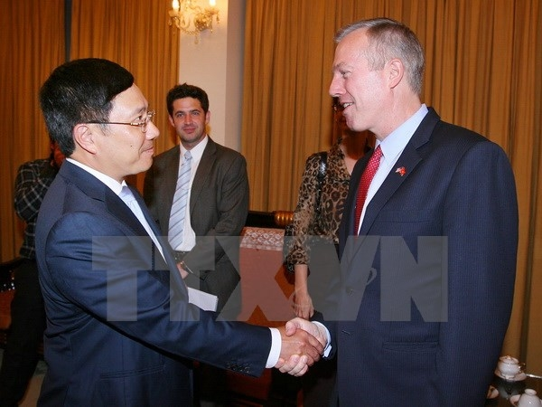 Deputy PM meets with new US ambassador