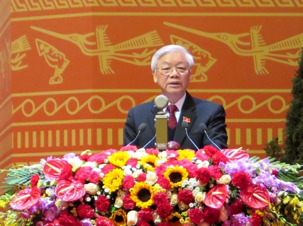 Party chief names six central tasks for next five years