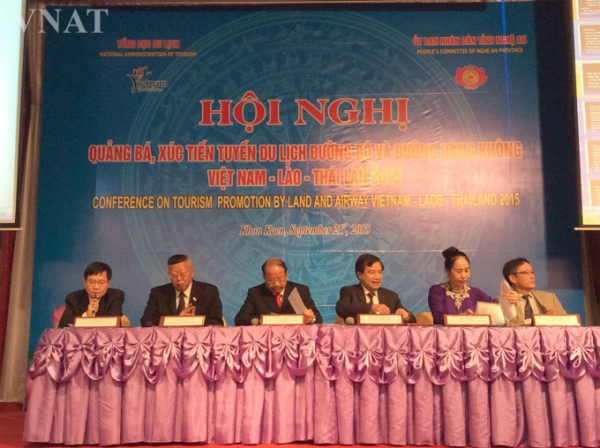 Viet Nam organizes conference on tourism promotion by land and airway Viet Nam – Laos – Thailand